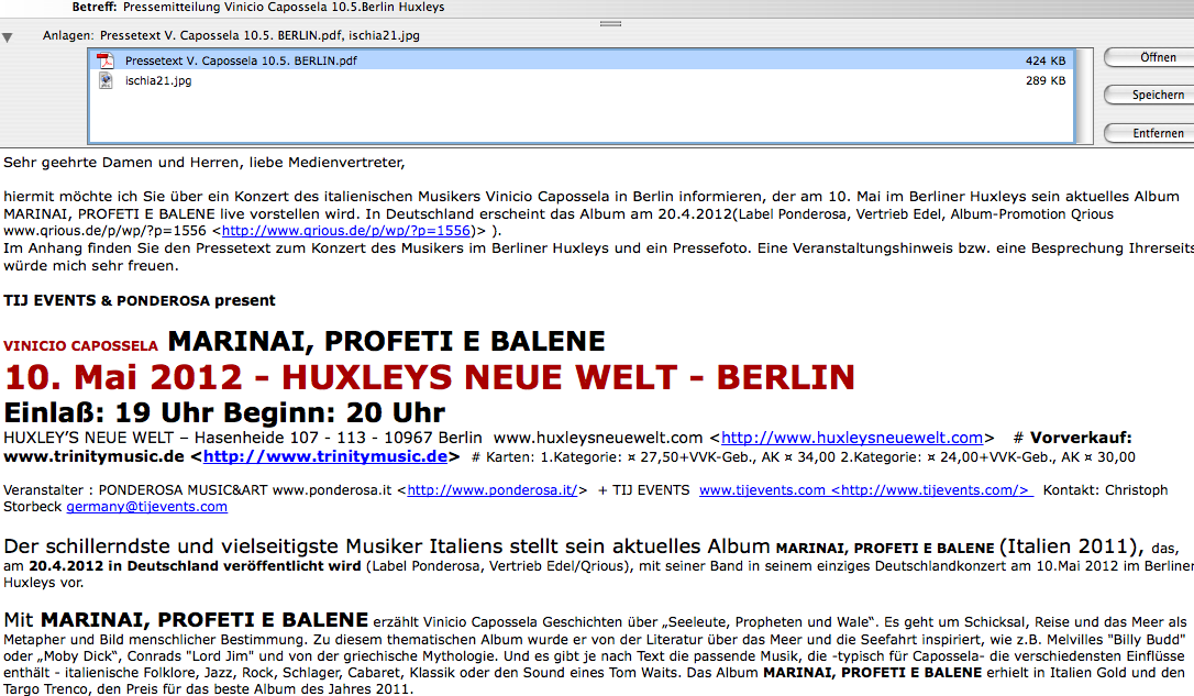 Pressemitteilung   GEDANKENSPIELE by Dominik Ruisinger