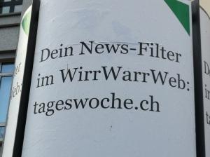 Werbekampagne der Tageswoche in Basel