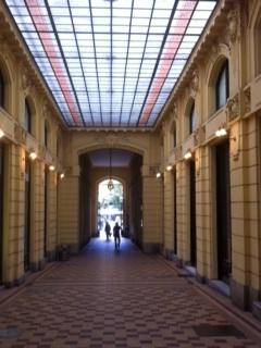 Elegante Einkaufsgalerien im Zentrum von Zagreb