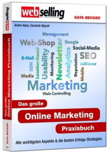 Onlinemarketing Buch von Andre Alpar und Dominik Wojcik u.a. zu SEO, SEM, SEA
