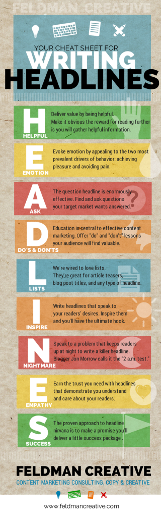 9 Tips to write headlines